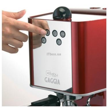 Кофеварка Gaggia New Baby Dose red Фото 3