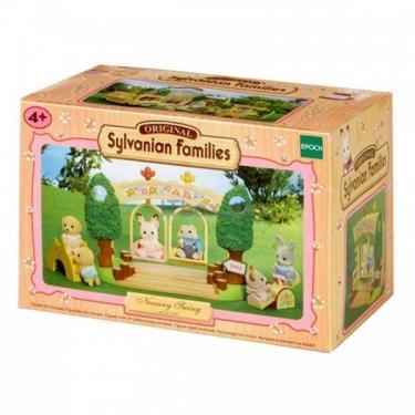 Игровой набор Sylvanian Families Детский сад - Качели Фото 1