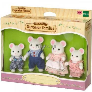 Игровой набор Sylvanian Families Семья Белых Мышей Фото 1