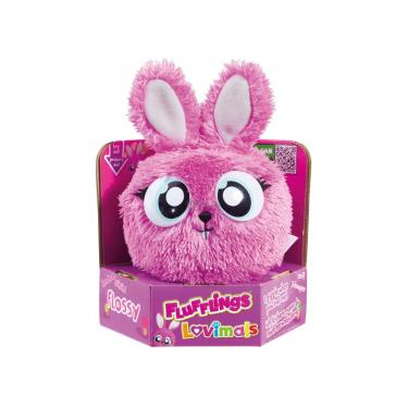 Интерактивная игрушка Flufflings Лохматик Шелковистый крольчонок Фото