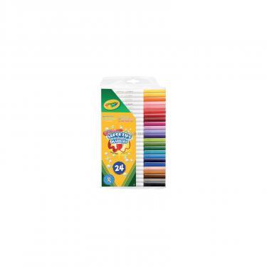 Набор для творчества Crayola 24 фломастера ярких цветов Фото 1