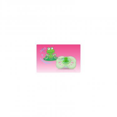 Пустышка Nuby Бабочка зеленая Фото