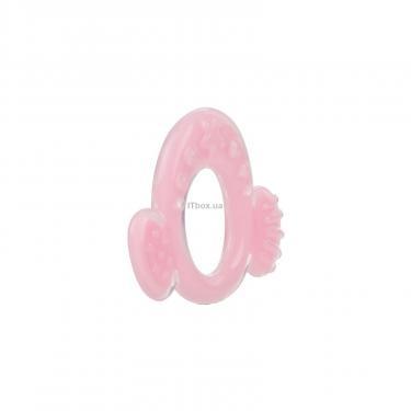 Прорезыватель Nuby с ушками розовый Фото