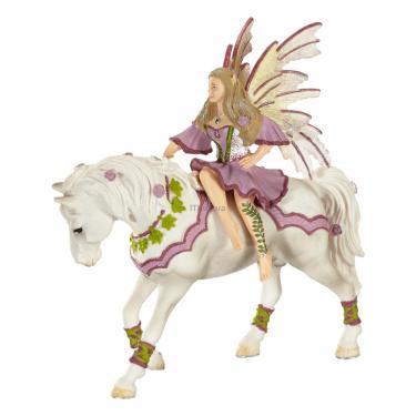 Фигурка Schleich Фея-эльф Фия в розовом на лошади Фото