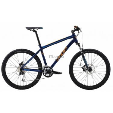 "Велосипед Felt MTB SIX 70 XS navy blue (orange/blue) 14"" Фото"