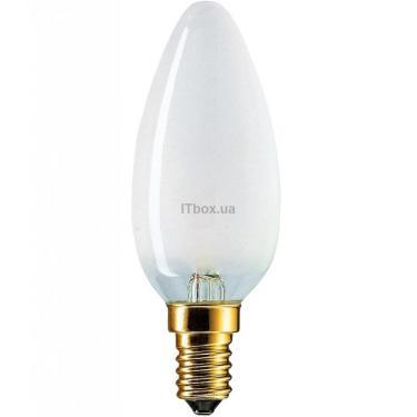 Лампочка PHILIPS E14 40W 230V B35 FR 1CT/10X10F Фото