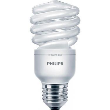 Лампочка PHILIPS E27 15W 220-240V CDL 1PF/6 Econ Twister Фото