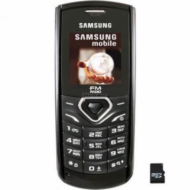 Мобильный телефон Samsung GT-E1175 Black Фото 1