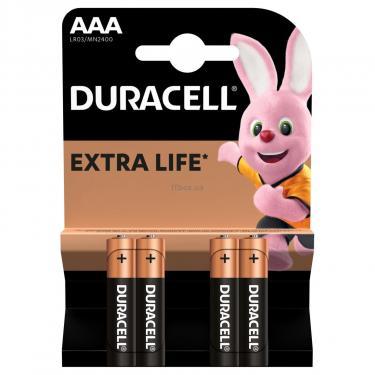 Батарейка Duracell AAA MN2400 LR03 * 4 Фото 1