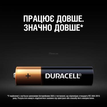 Батарейка Duracell AAA MN2400 LR03 * 4 Фото 3