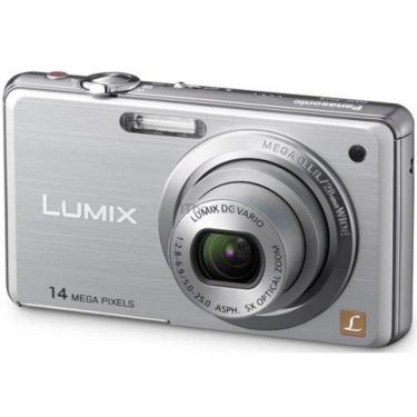 Цифровой фотоаппарат PANASONIC Lumix DMC-FS11EE-S silver Фото 1