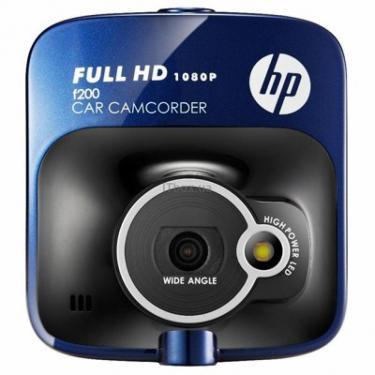Видеорегистратор HP f200 blue Фото 1