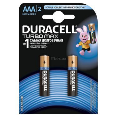 Батарейка Duracell TURBO AAA LR03 * 2 Фото