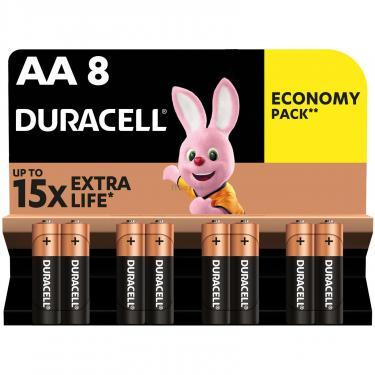 Батарейка Duracell AA MN1500 LR06 * 8 Фото