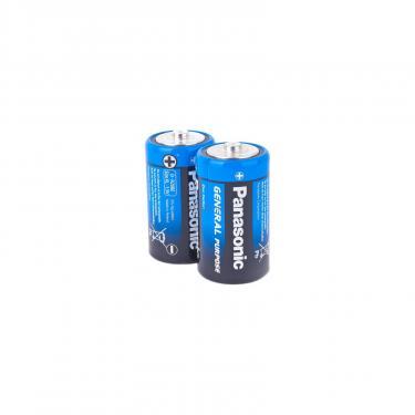 Батарейка PANASONIC D ( R20 ) GENERAL PURPOSE TRAY ZINK-CARBON * 2 Фото