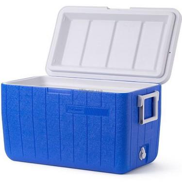 Термобокс Coleman COOLER 48QT BLUE NO TRAY GLBL C004 Фото 1