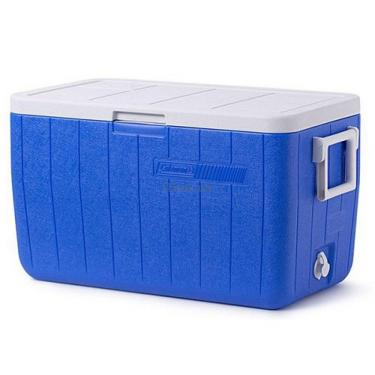 Термобокс Coleman COOLER 48QT BLUE NO TRAY GLBL C004 Фото