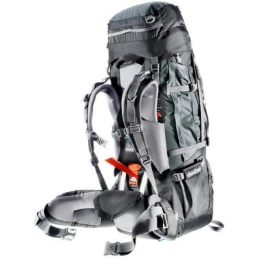 Рюкзак Deuter Aircontact PRO 60+15 granite-black Фото 1