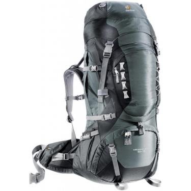 Рюкзак Deuter Aircontact PRO 60+15 granite-black Фото