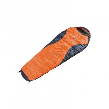 Спальный мешок Deuter Dream Lite 400 sun orange-midnight правый Фото