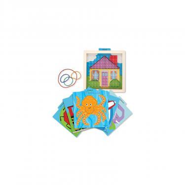 Развивающая игрушка Melissa&Doug Резиновая шнуровка Фото