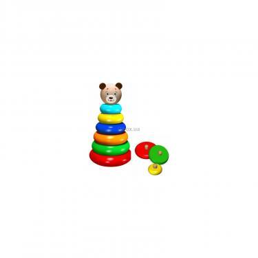 Развивающая игрушка WoodyLand Медвежонок Фото