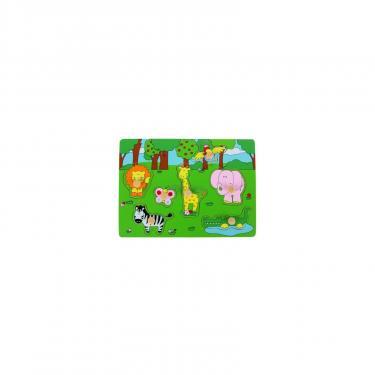 Развивающая игрушка WoodyLand Животные джунглей Фото