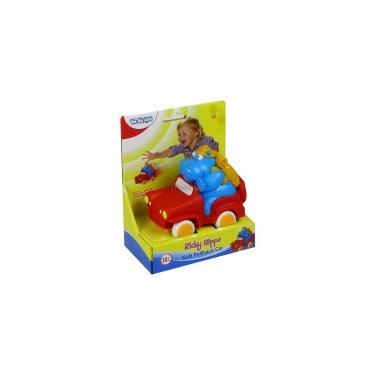 Развивающая игрушка BeBeLino Автомобиль Бегемотик Рикки Фото