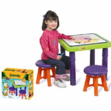 Набор для творчества Crayola с 2 стульчиками Фото 2