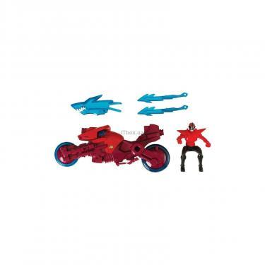Фигурка Power Rangers Транспорт-акула и Красный рейнджер Фото 1