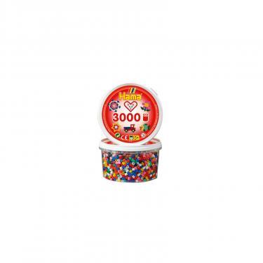 Набор для творчества HAMA цветные бусины, 3.000 шт., 10 цветов Фото