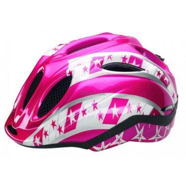 """Шлем Point Primo """"Star"""" розовый S Фото"""