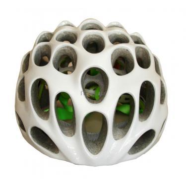 Шлем CatLike Whisper Plus Deluxe Blanco-Verde SM Brillo SV Фото 1