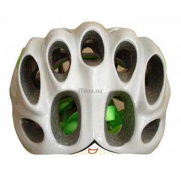 Шлем CatLike Whisper Plus Deluxe Blanco-Verde SM Brillo SV Фото 2