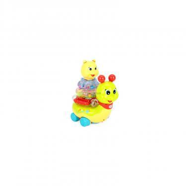 Развивающая игрушка Huile Toys Сверкающая улитка Фото 2