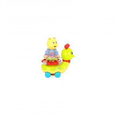 Развивающая игрушка Huile Toys Сверкающая улитка Фото 3
