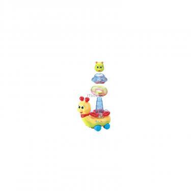 Развивающая игрушка Huile Toys Сверкающая улитка Фото 4