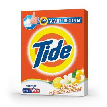 Стиральный порошок Tide Лимон и Белая Лилия 450 г Фото