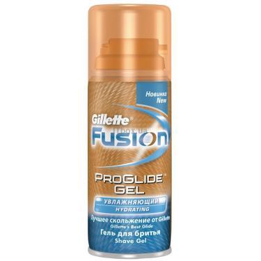 Гель для бритья Gillette Fusion Proglide Hidrating Увлажняющий 75 мл Фото 1