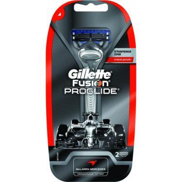 Бритва Gillette Fusion ProGlide McLaren design c 2 сменными картри Фото 1