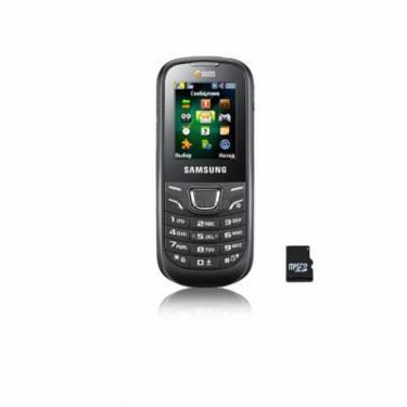 Мобильный телефон Samsung GT-E1225 Black Фото 1