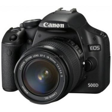 Цифровой фотоаппарат Canon EOS 500D 18-55 IS lens kit Фото 1