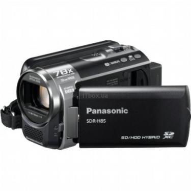 Цифровая видеокамера PANASONIC SDR-H85 black Фото 1