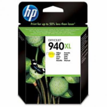 Картридж HP DJ No.940XL Yellow Фото 1
