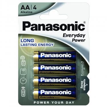 Батарейка PANASONIC EVERYDAY POWER AA BLI 4 Фото 1