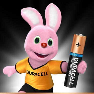 Батарейка Duracell AAA TURBO MAX LR03 * 4 Фото 1