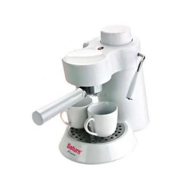 Кофеварка SATURN ST-CM7086 white Фото 1