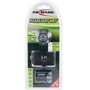 Фонарь Ansmann Headlight HD5 LED Фото 1