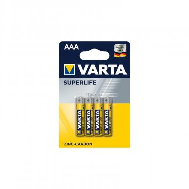 Батарейка Varta SUPERLIFE ZINC-CARBON * 4 Фото
