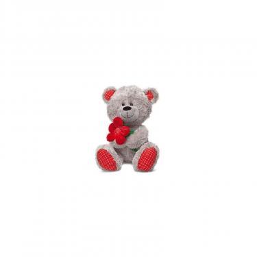 Мягкая игрушка Lava Медведь с красным цветком Фото